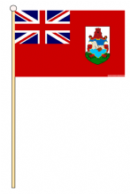 BERMUDA - HAND WAVING FLAG (MEDIUM)